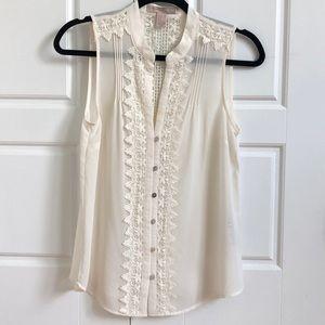 Vintage style tank blouse